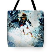 Last Run Tote Bag by Hanne Lore Koehler