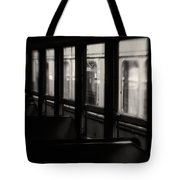 Last Stop Tote Bag by Amy Weiss