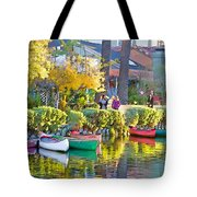 Late Afternoon Stroll Tote Bag by Chuck Staley