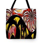 Lava Flow Tote Bag by Alec Drake