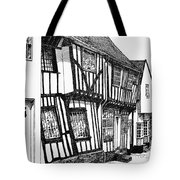 Lavenham Timber Tote Bag by Shirley Miller