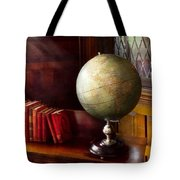 Lawyer - A World Traveler Tote Bag by Mike Savad