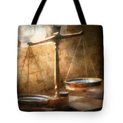 Lawyer - Scale - Balanced Law Tote Bag by Mike Savad