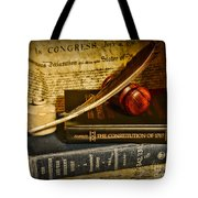 Lawyer - The Constitutional Lawyer Tote Bag by Paul Ward