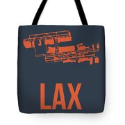Lax Airport Poster 3 Tote Bag by Naxart Studio