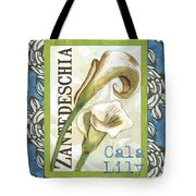 Lazy Daisy Lily 1 Tote Bag by Debbie DeWitt