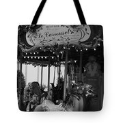 Le Carrousel Tote Bag by David Rucker