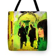 Le Chat Noir Tote Bag by Chuck Staley