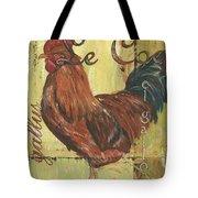 Le Coq Tote Bag by Debbie DeWitt