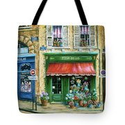 Le Fleuriste Tote Bag by Marilyn Dunlap