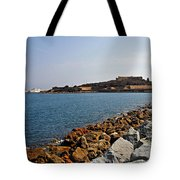 Le Fort Carre - Antibes - France Tote Bag by Christine Till