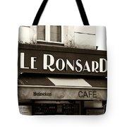 Le Ronsard Tote Bag by John Rizzuto