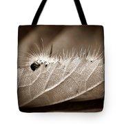 Leaf Muncher Tote Bag by Luke Moore