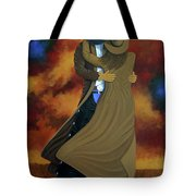 Lean On Me Tote Bag by Lance Headlee