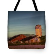 Leaning Silo  Tote Bag by Bill Gallagher