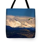 Leap Of Faith Tote Bag by James BO  Insogna