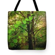 Leaves In My Hair Tote Bag by Laurie Search