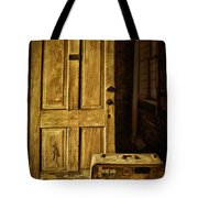 Leaving Home Tote Bag by Priscilla Burgers