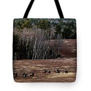Leaving Town For The Holidays Tote Bag by Susan Capuano