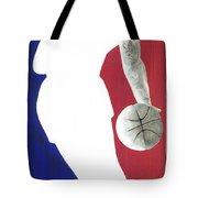 Lebron Nba Logo Tote Bag by Tamir Barkan