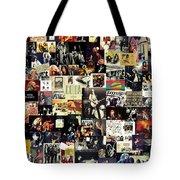 Led Zeppelin Collage Tote Bag by Taylan Soyturk