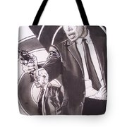 Lee Marvin - Point Blank Tote Bag by Sean Connolly