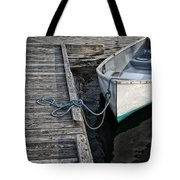 Left At The Dock Tote Bag by Karol Livote