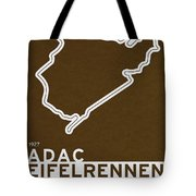 Legendary Races - 1927 Eifelrennen Tote Bag by Chungkong Art