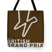 Legendary Races - 1948 British Grand Prix Tote Bag by Chungkong Art