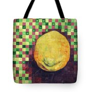 Lemon Squares Tote Bag by Shawna  Rowe
