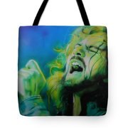 'lemon Yellow Sun' Tote Bag by Christian Chapman Art
