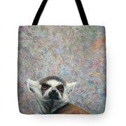Lemur Tote Bag by James W Johnson