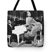Lena Horne In Stormy Weather Tote Bag by Underwood Archives
