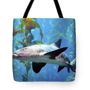 Leopard Shark Tote Bag by Barbara Snyder