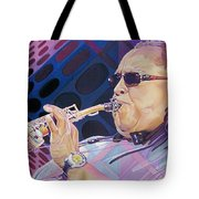 Leroi Moore Tote Bag by Joshua Morton