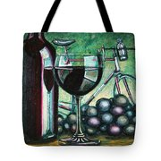L'eroica Still Life Tote Bag by Mark Howard Jones