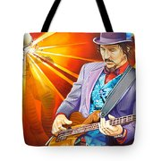 Les Claypool's-sonic Boom Tote Bag by Joshua Morton