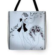 Les Sylphides Tote Bag by Georges Barbier