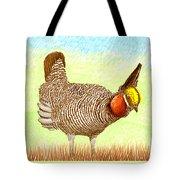 Lesser Prairie Chicken Tote Bag by Jack Pumphrey