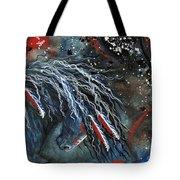 Let Freedom Run Majestic Series #71 Tote Bag by AmyLyn Bihrle