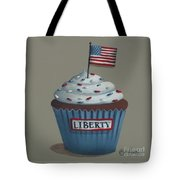 Liberty Cupcake Tote Bag by Catherine Holman