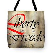 Liberty Freedom Tote Bag by Daniel Hagerman