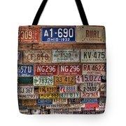 License To Drive Tote Bag by Debra and Dave Vanderlaan