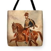 Lieutenant Colonel James Thomas Brudenell  Tote Bag by Alfred de Prades