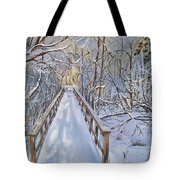 Life's  Path Tote Bag by Sharon Duguay