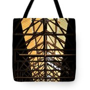 Light From Above Tote Bag by DJ Florek