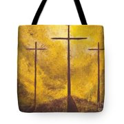 Light Of Salvation Tote Bag by Wayne Cantrell