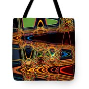 Light Painting 3 Tote Bag by Delphimages Photo Creations