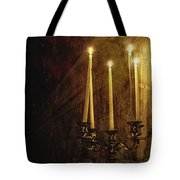 Lighting The Way Tote Bag by Margie Hurwich