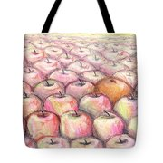 Like Apples And Oranges Tote Bag by Shana Rowe Jackson
